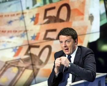 renzi euro vespa