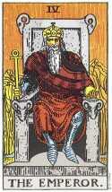 The emperor tarot
