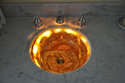 Installation Multi Colored Onyx Sinks Gallery
