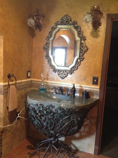 Forged Iron Pedestal Sink Sinks Gallery