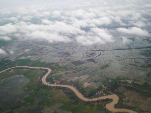 Jakarta desde el cielo