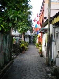 Gang II, Yogyakarta, Java, Indonesia