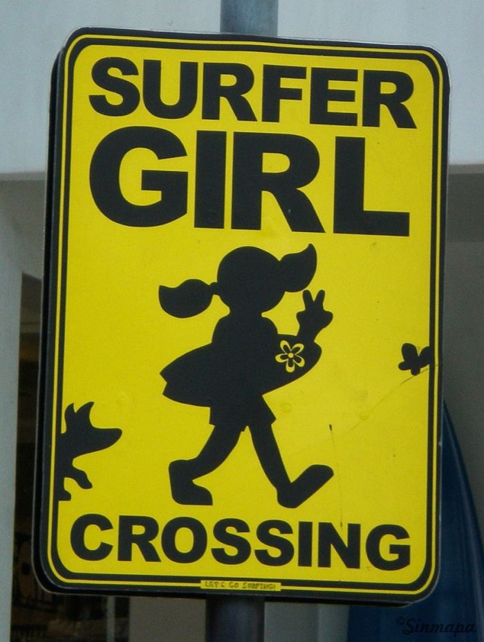 Cartel Surfer Girl