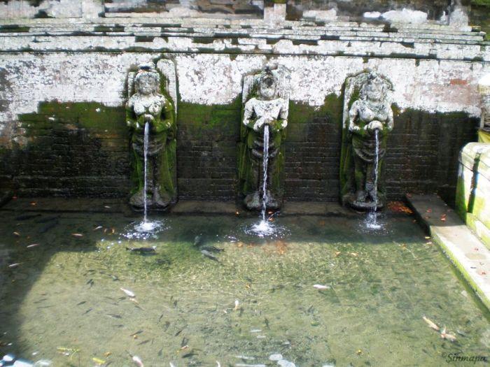 Templo hindú en Gunung Kawi Ubud, Bali, Indonesia, Sinmapa.net
