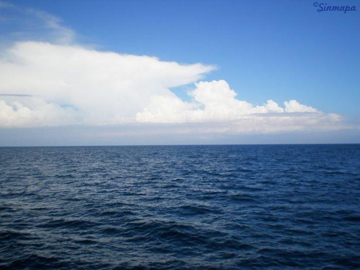 Mar en Indonesia - Camino a las islas Gili