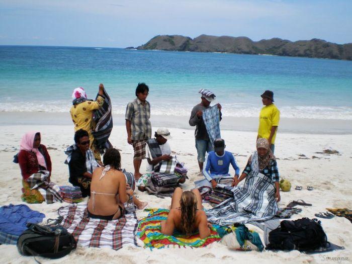 Lombok - Regateo en la playa herramientas para viajar