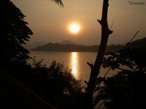 Atardecer en Luang Prabang mis lugares favoritos