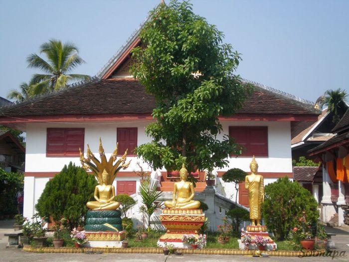 Budas Sentados Luang Prabang
