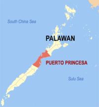 qué hacer en la isla de Palawan - Mapa de Palawan