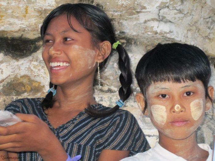 Niños de Birmania