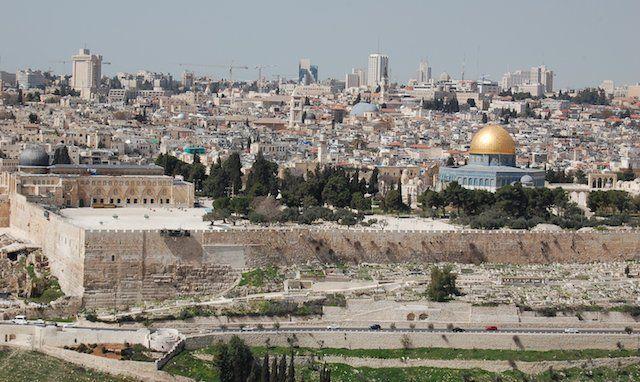 Jerusalem tours de Google Street View