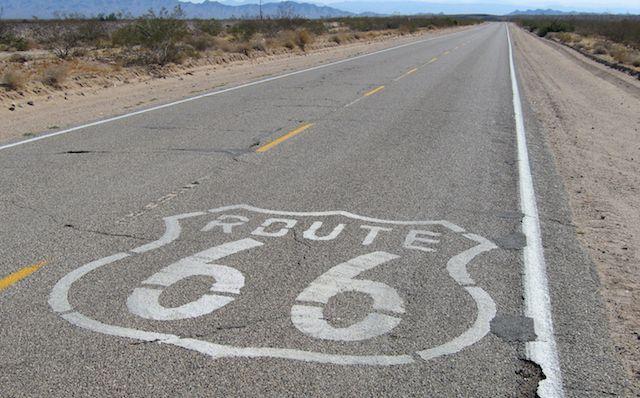 Ruta66 tours de Google Street View
