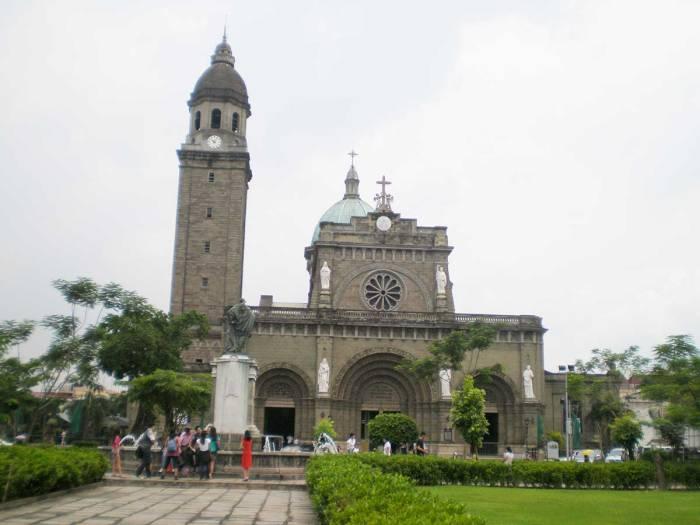 Catedral Manila qué hacer en Manila Filipinas