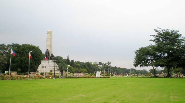 Parque Rizal qué hacer en Manila Filipinas