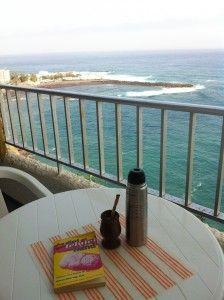 Vistas al mar desde el hotel en Tenerife
