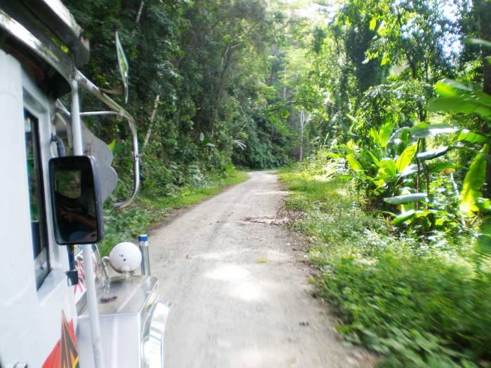 Camino a El Nido, Filipinas