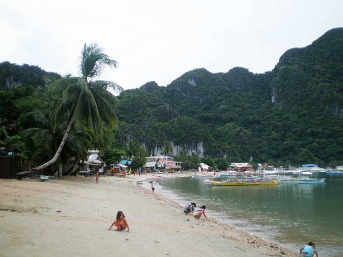 Playa de El Nido, Filipinas