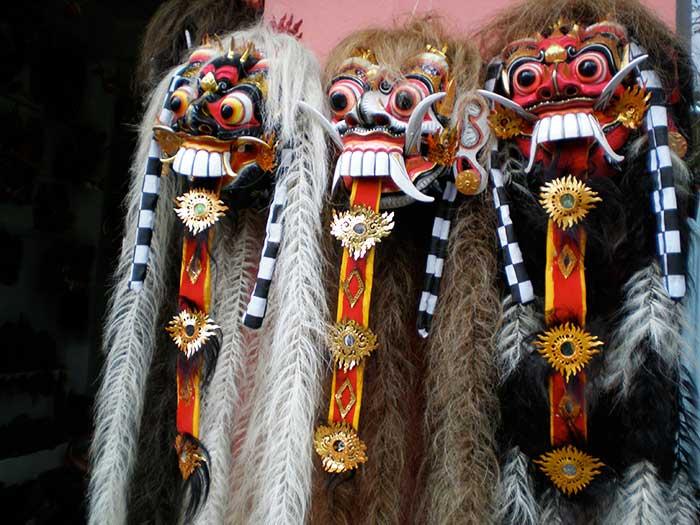 Máscaras de dioses y demonios