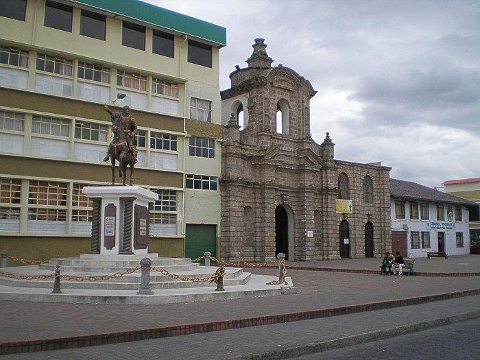 Calles de Latacunga