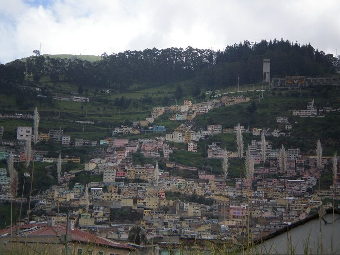 vistas de Quito