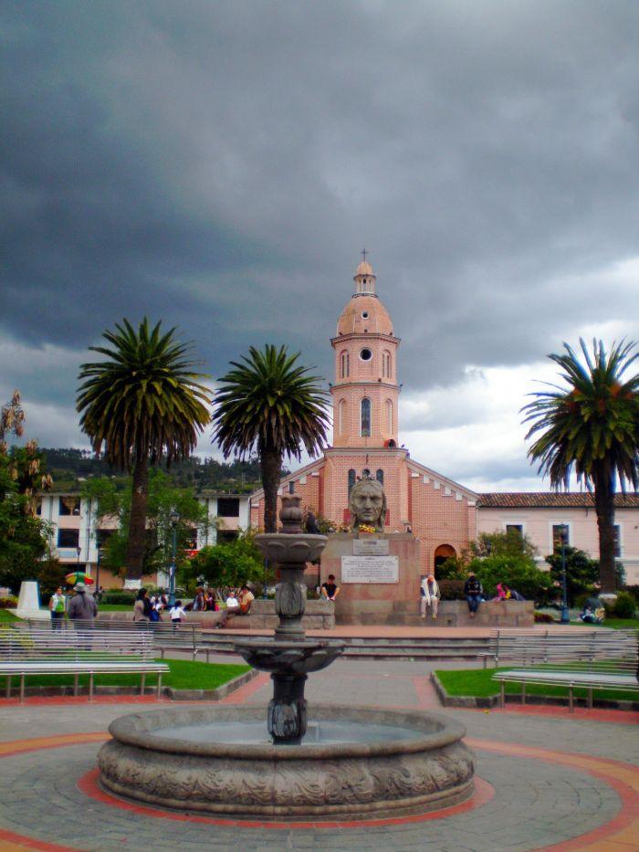 Iglesia en Otavalo