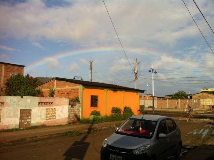 Después de la tormenta llego el sol... y el ¡arcoiris!
