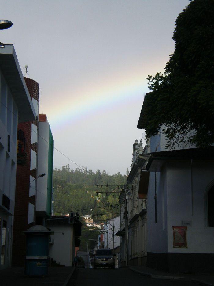 Arco iris en Loja Ecuador