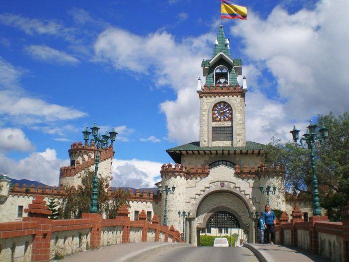 Castillo en Loja, Ecuador
