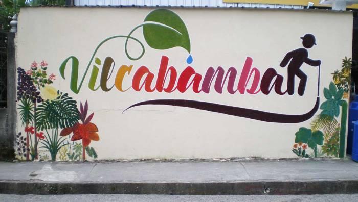 Graffiti en Vilcabamba, Ecuador