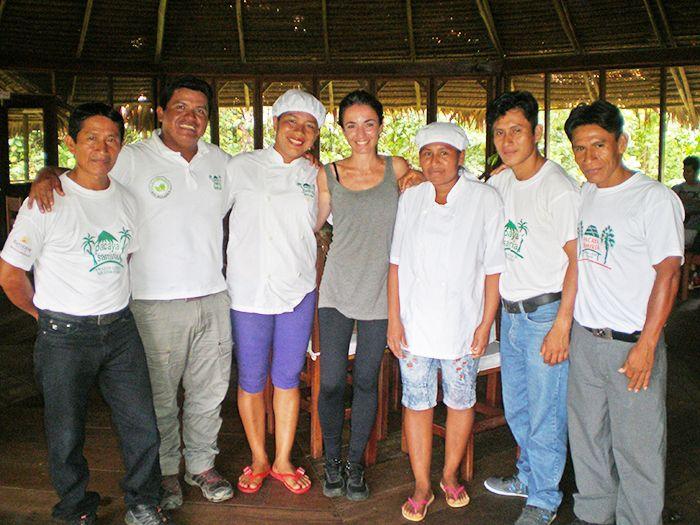 El equipo del Pacaya Samiria Amazon Lodge casi al completo!