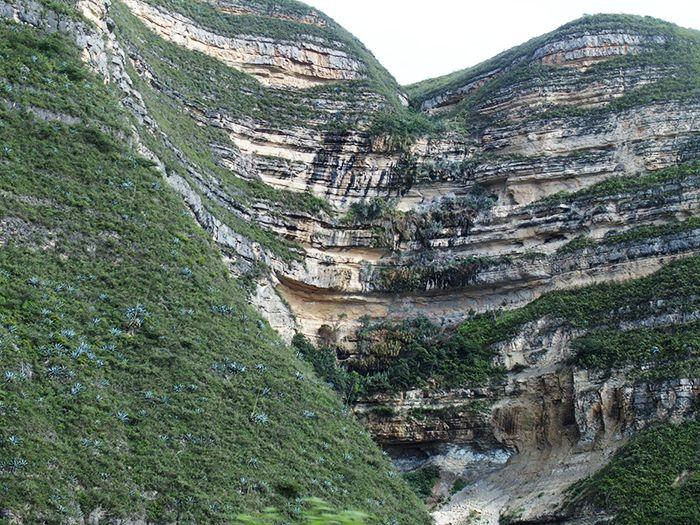 De camino a Kuelap desde Chachapoyas