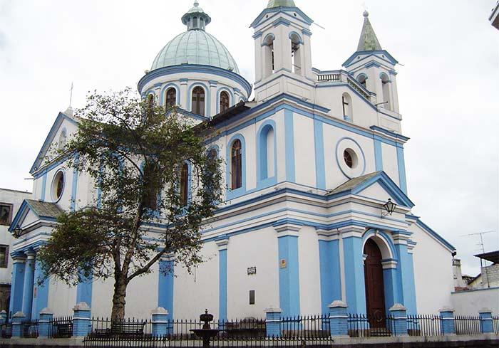 Iglesia Santa Bárbara, Quito. Ecuador