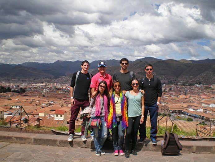 grupete de amigos Cusco