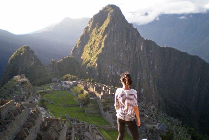 Peru sudamerica ciudadela perdida de los incas
