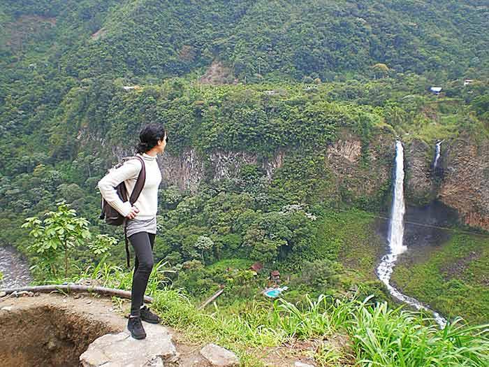 Ruta de las Cascadas de Baños de Agua Santa, Ecuador