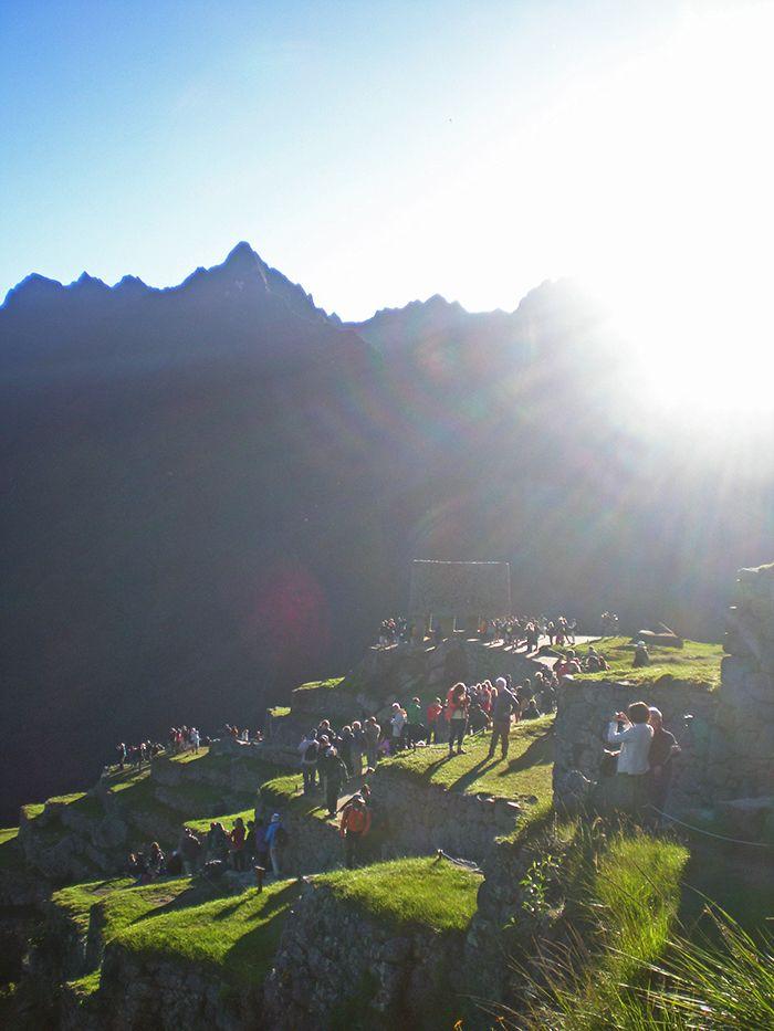 Peru Sudamerica Ciudadela sagrada Inca