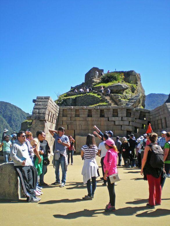 Peru Sudamerica Ciudadela sagrada Inca Machu Picchu