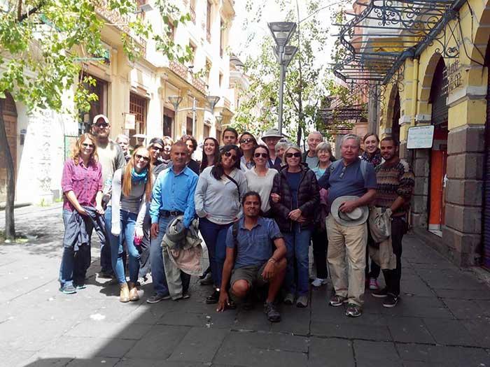 Visita guiada en Quito