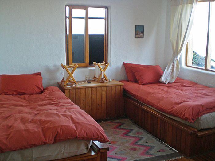 Mi habitación en el ecolodge La Estancia - Cómo ir a la Isla del Sol - Qué ver en Isla del Sol - Bolivia