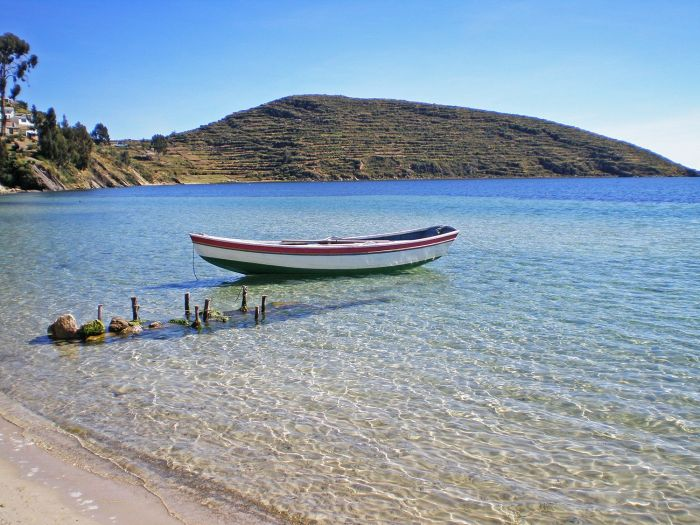 Zona Norte de la Isla del Sol - Cómo ir a la Isla del Sol - Qué ver en Isla del Sol - Bolivia