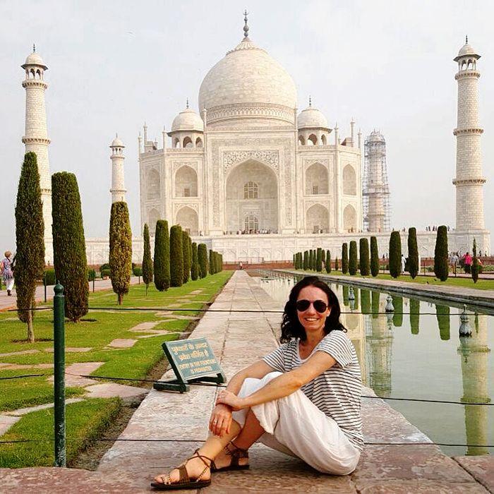 2015 viajero El majestuoso Taj Mahal - Agra - India