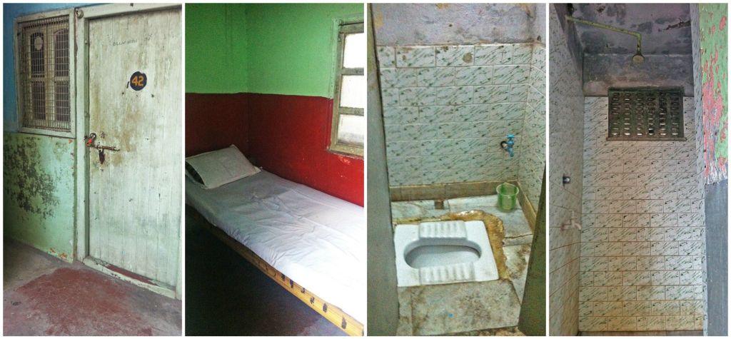 Habitación y baño en Calcuta