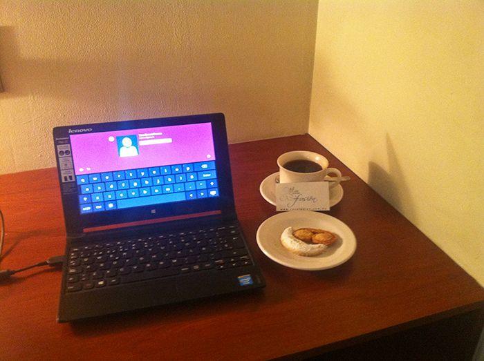 Trabajando en un hotel de Bolivia