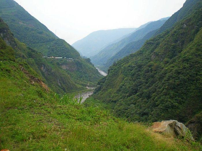 Paisajes en Ruta de las Cascadas