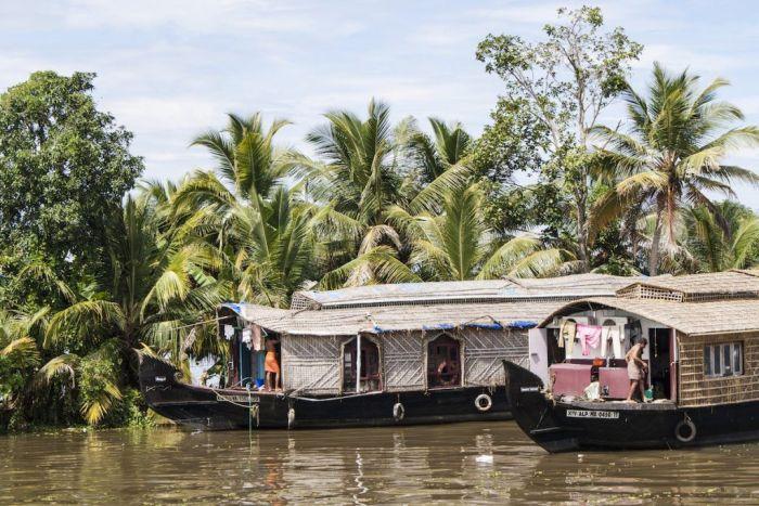 barcos kerala Backwaters