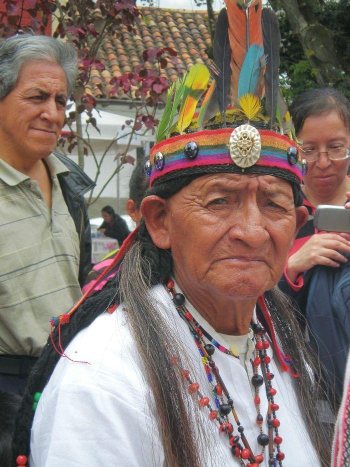 Chamán en Cuenca, Ecuador