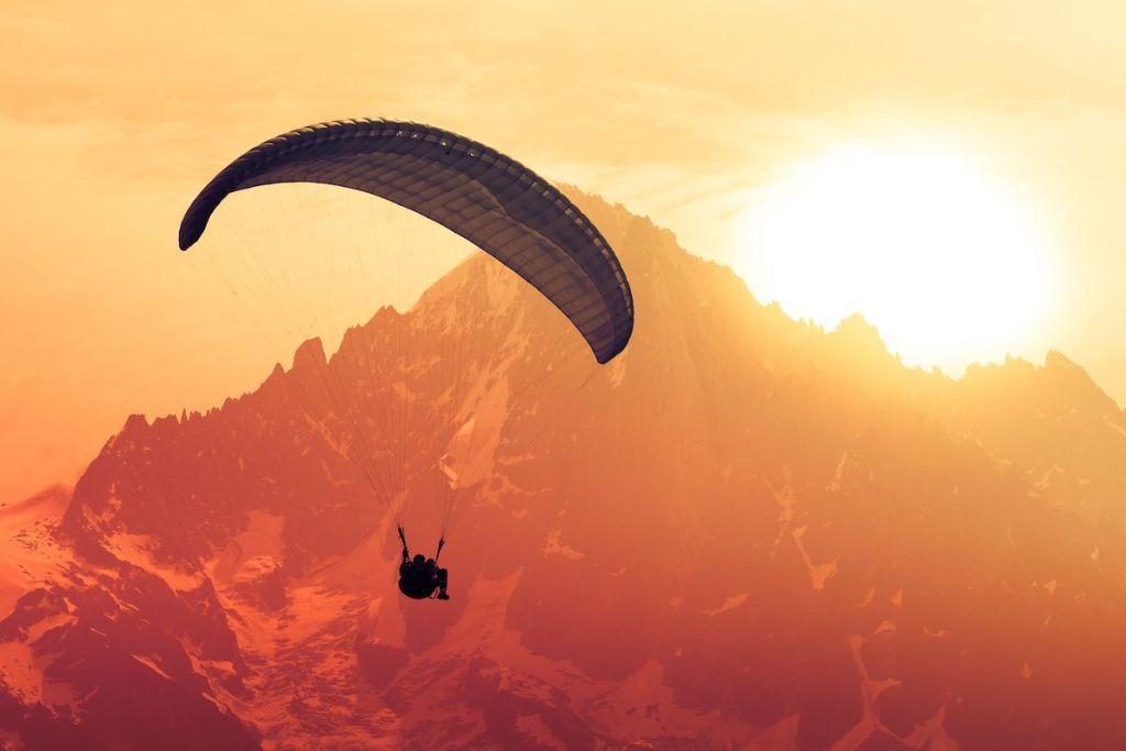 Volando en parapente no copies un viaje