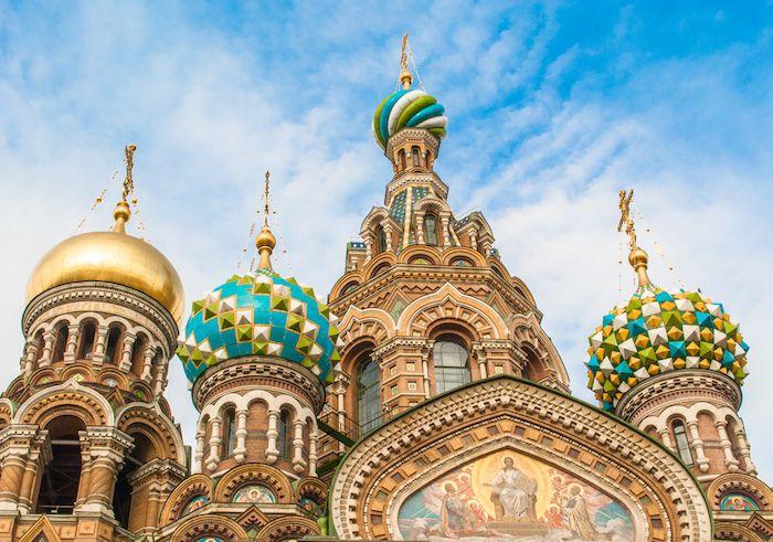 Navidad en San Petersburgo via Shutterstock