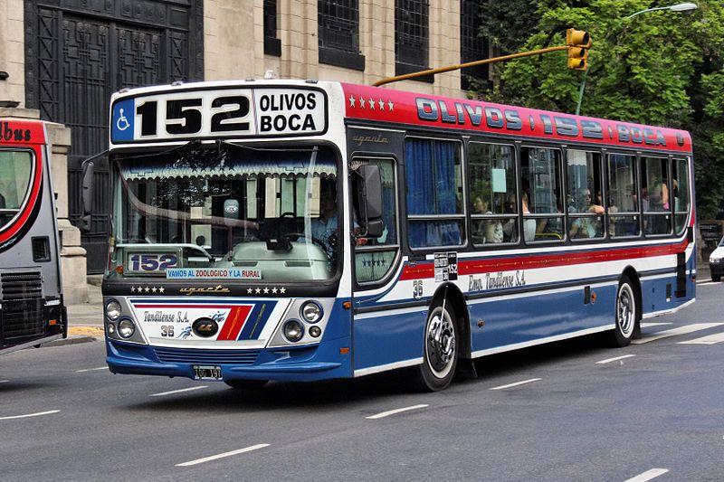 colectivo 152 qué hacer en Buenos Aires - Visitar Buenos Aires