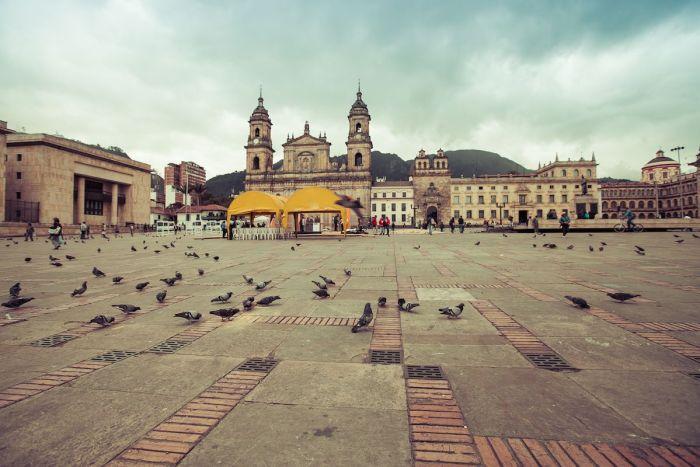 Bogota, La Candelaria, Plaza Bolivar